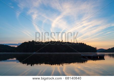 Sunrise Lake Of Bays