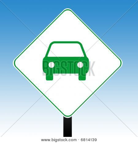 Motor Car Sign