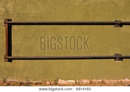 Wall Texture And Rail