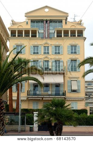City Of Nice, France - Architecture Along Promenade Des Anglais