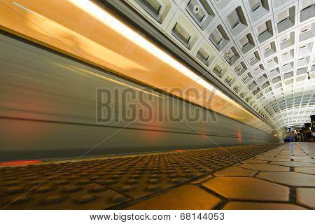 Washington D.C. - Subway station interior