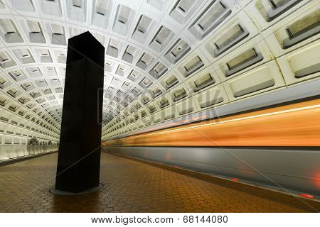 Washington D.C. - Subway station interior