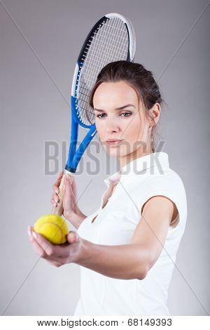 Beautiful Tennis Player