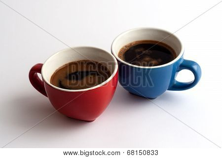 Two Cups Of Coffe