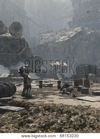 Future City Battlefield