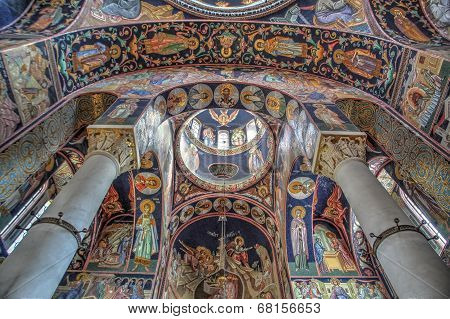 St George's Church At Oplenac, Serbia
