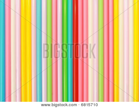 Drinking straws pattern