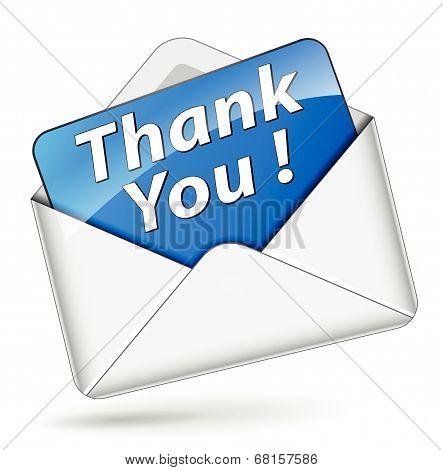 Vector Thank You Icon