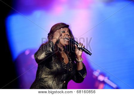 Gloria Gaynor performs at Exit Festival, Novi Sad