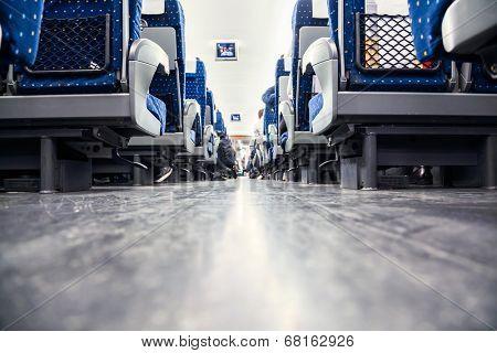 Chinese train's seat.