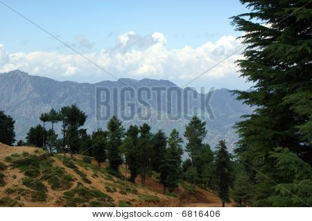 Landscape In Himalayas