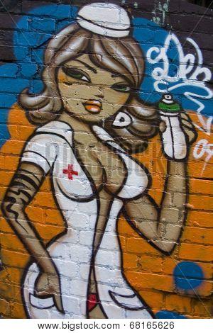 Graffiti Nurse.
