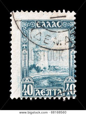 Thessaloniki tower stamp