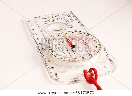 Transparent Compass White Background
