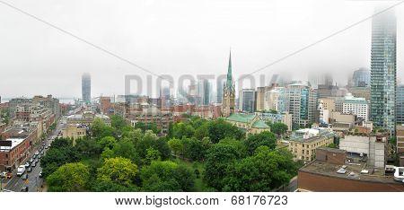 Foggy Toronto