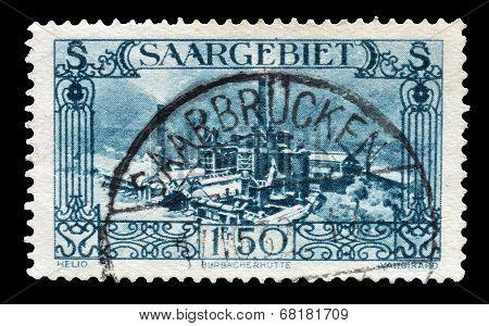 Germany Saargebeit 1927