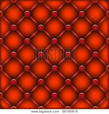 red leather furniture texture