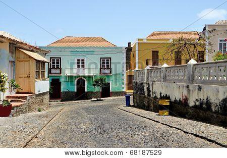 Colorful Island Homes