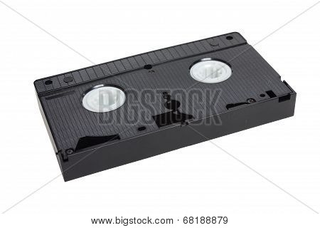 Videotape Isolated On White Background.