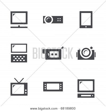 Visualization Tools Icon Set
