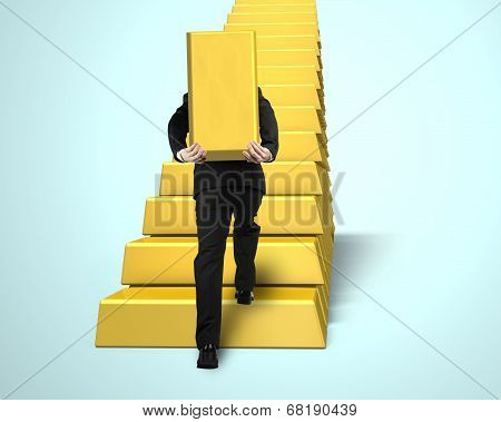 Carrying Bullion On Stairs