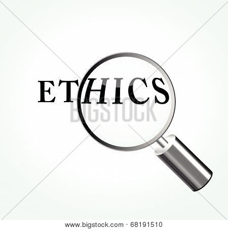 Vector Ethics Concept Illustration