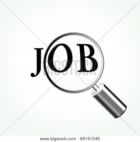 Vector Job Concept Illustration