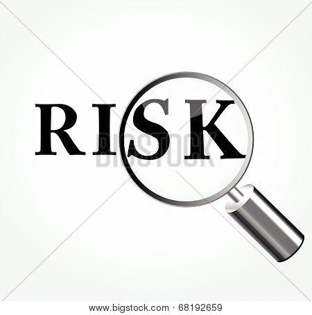 Vector Risk Theme Illustration