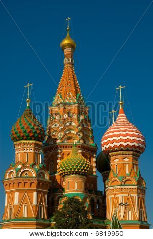 Moscow. Saint Basil's Cathedral