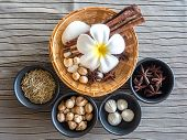 stock photo of thai massage  - Thai massage and Spa is best in the world - JPG