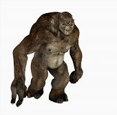 picture of troll  - 3d render of a troll creature character - JPG