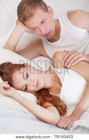 Man Apologizing His Wife
