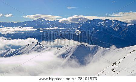 Alpine Arc In Winter