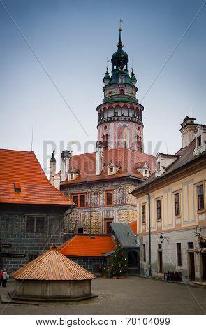 Cesky Krumlov Castle Tower