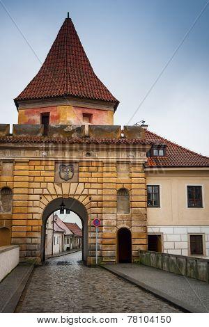 Cesky Krumlov Budejovice Gate External