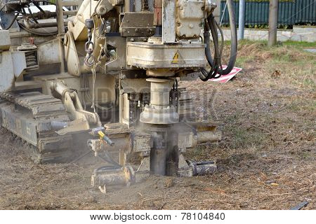 Borehole For Soil Testing