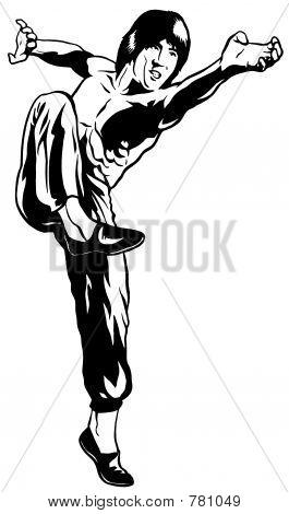 Kung Fu Block & Strike