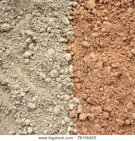 Two Color Soil Background