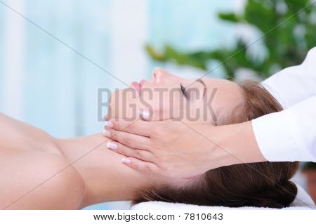 Female Face Massage