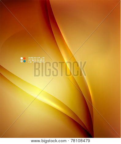 Orange color abstract hi-tech futuristic template