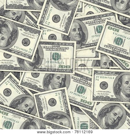 High Quality One Hundred Dollar Background