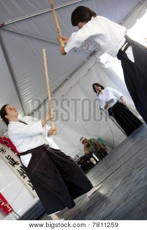 Shinkendo Practice 1