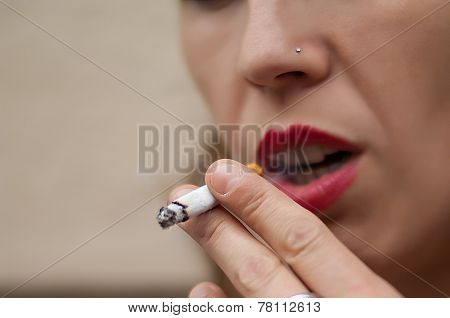 Detail Of Cigarette