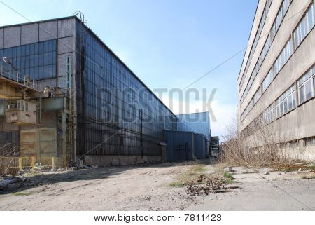 Abandoned Industrial Warehouse