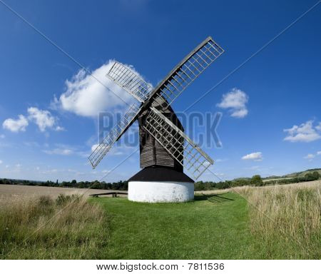 Pitstone Windmill English Countryside