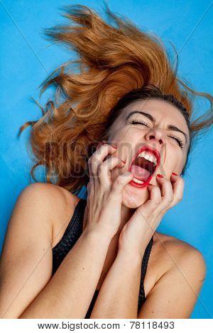 screaming girl