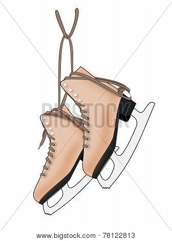 A Pair of Ice Skates