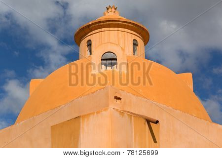 Dome Shaped Spanish Building