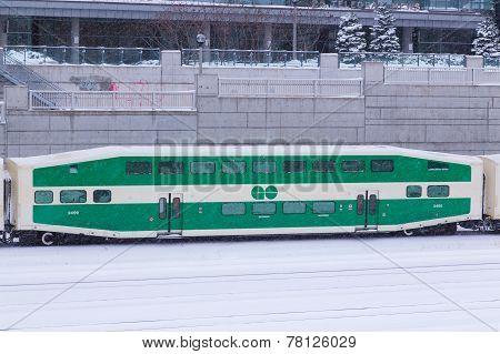 Go Train In The Snow