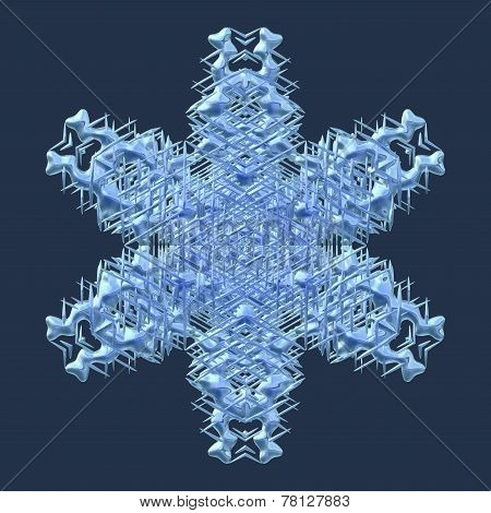 Snowflake Generated Texture